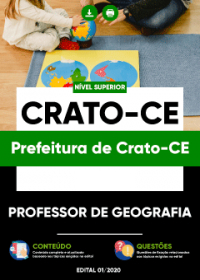 Professor de Geografia - Prefeitura de Crato-CE