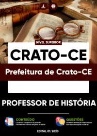 Professor de História - Prefeitura de Crato-CE