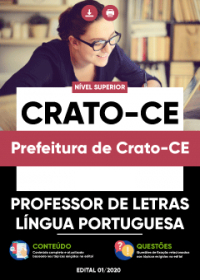 Professor de Letras - Língua Portuguesa - Prefeitura de Crato-CE