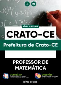 Professor de Matemática - Prefeitura de Crato-CE