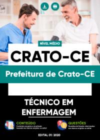 Técnico em Enfermagem - Prefeitura de Crato-CE
