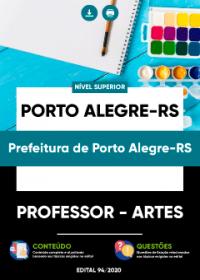 Professor - Artes - Prefeitura de Porto Alegre-RS