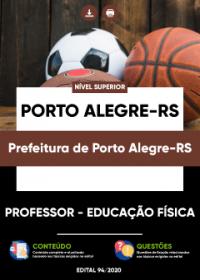 Professor - Educação Física - Prefeitura de Porto Alegre-RS