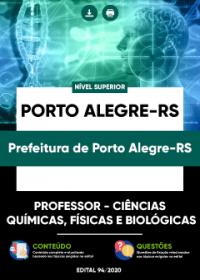 Prof. - Ciências Químicas, Físicas e Biológicas - Prefeitura de Porto Alegre-RS