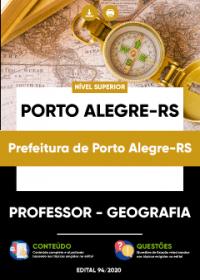 Professor - Geografia - Prefeitura de Porto Alegre-RS