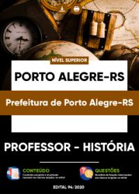 Professor - História - Prefeitura de Porto Alegre-RS