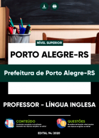 Professor - Língua Inglesa - Prefeitura de Porto Alegre-RS