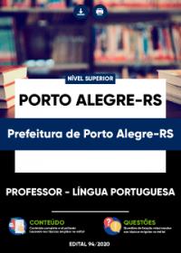 Professor - Língua Portuguesa - Prefeitura de Porto Alegre-RS