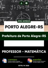 Professor - Matemática - Prefeitura de Porto Alegre-RS