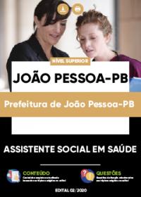 Assistente Social em Saúde - Prefeitura de João Pessoa-PB