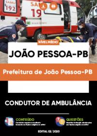Condutor de Ambulância - Prefeitura de João Pessoa-PB