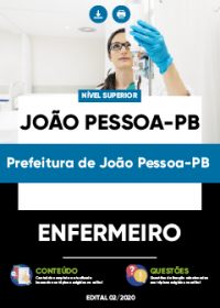 Enfermeiro - Prefeitura de João Pessoa-PB