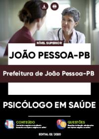 Psicólogo em Saúde - Prefeitura de João Pessoa-PB