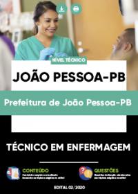 Técnico em Enfermagem - Prefeitura de João Pessoa-PB