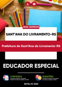 Educador Especial - Prefeitura de Sant´Ana do Livramento-RS