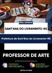 Professor de Arte - Prefeitura de Sant´Ana do Livramento-RS