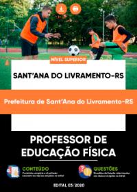 Professor de Educação Física - Prefeitura de Sant´Ana do Livramento-RS