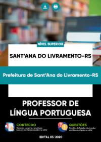 Professor de Língua Portuguesa - Prefeitura de Sant´Ana do Livramento-RS