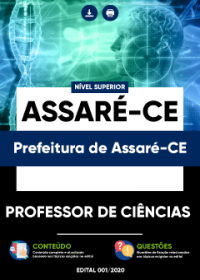 Professor de Ciências - Prefeitura de Assaré-CE
