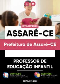 Professor de Educação Infantil - Prefeitura de Assaré-CE