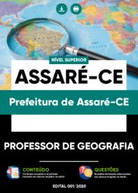 Professor de Geografia - Prefeitura de Assaré-CE