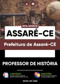 Professor de História - Prefeitura de Assaré-CE