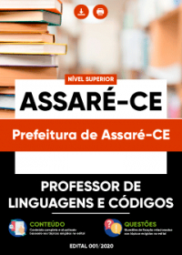 Professor de Linguagens e Códigos - Prefeitura de Assaré-CE