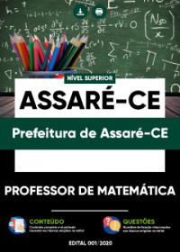 Professor de Matemática - Prefeitura de Assaré-CE