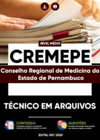 Técnico em Arquivos - CREMEPE