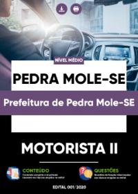 Motorista II - Prefeitura de Pedra Mole-SE