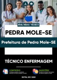 Técnico Enfermagem - Prefeitura de Pedra Mole-SE