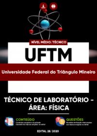 Técnico de Laboratório - Área: Física - UFTM