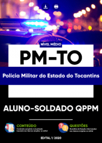 Aluno-Soldado QPPM - PM-TO