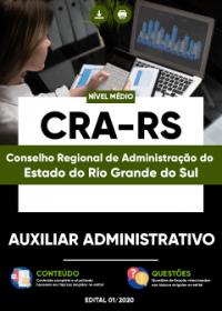 Auxiliar Administrativo - CRA-RS