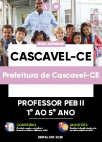 Professor PEB II - 1 ao 5 Ano - Prefeitura de Cascavel-CE