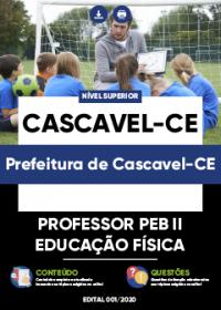 Professor PEB II - Educação Física - Prefeitura de Cascavel-CE