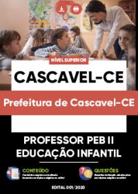 Professor PEB II - Educação Infantil - Prefeitura de Cascavel-CE