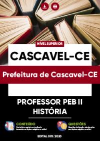Professor PEB II - História - Prefeitura de Cascavel-CE