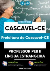 Professor PEB II - Língua Estrangeira - Prefeitura de Cascavel-CE