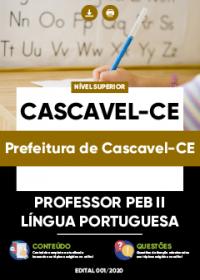 Professor PEB II - Língua Portuguesa - Prefeitura de Cascavel-CE