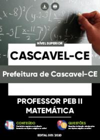 Professor PEB II - Matemática - Prefeitura de Cascavel-CE
