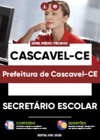Secretário Escolar - Prefeitura de Cascavel-CE