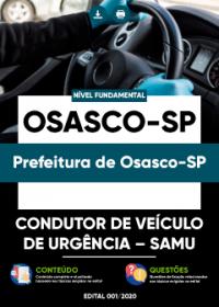Condutor de Veículo de Urgência - SAMU - Prefeitura de Osasco-SP