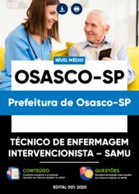 Técnico de Enfermagem Intervencionista - SAMU - Prefeitura de Osasco-SP