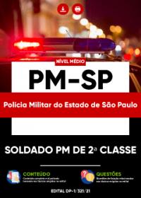 Soldado PM de 2ª Classe - PM-SP
