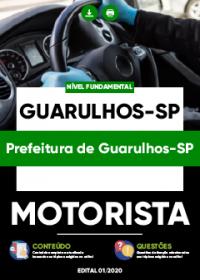 Motorista - Prefeitura de Guarulhos-SP