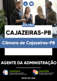 Agente da Administração - Câmara de Cajazeiras-PB
