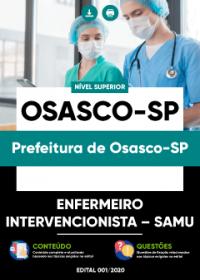 Enfermeiro Intervencionista - SAMU - Prefeitura de Osasco-SP