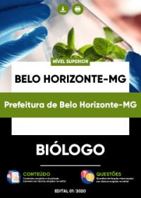 Biólogo - Prefeitura de Belo Horizonte-MG