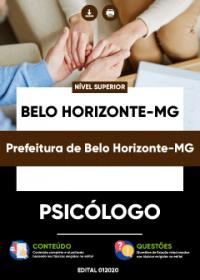 Psicólogo - Prefeitura de Belo Horizonte-MG
